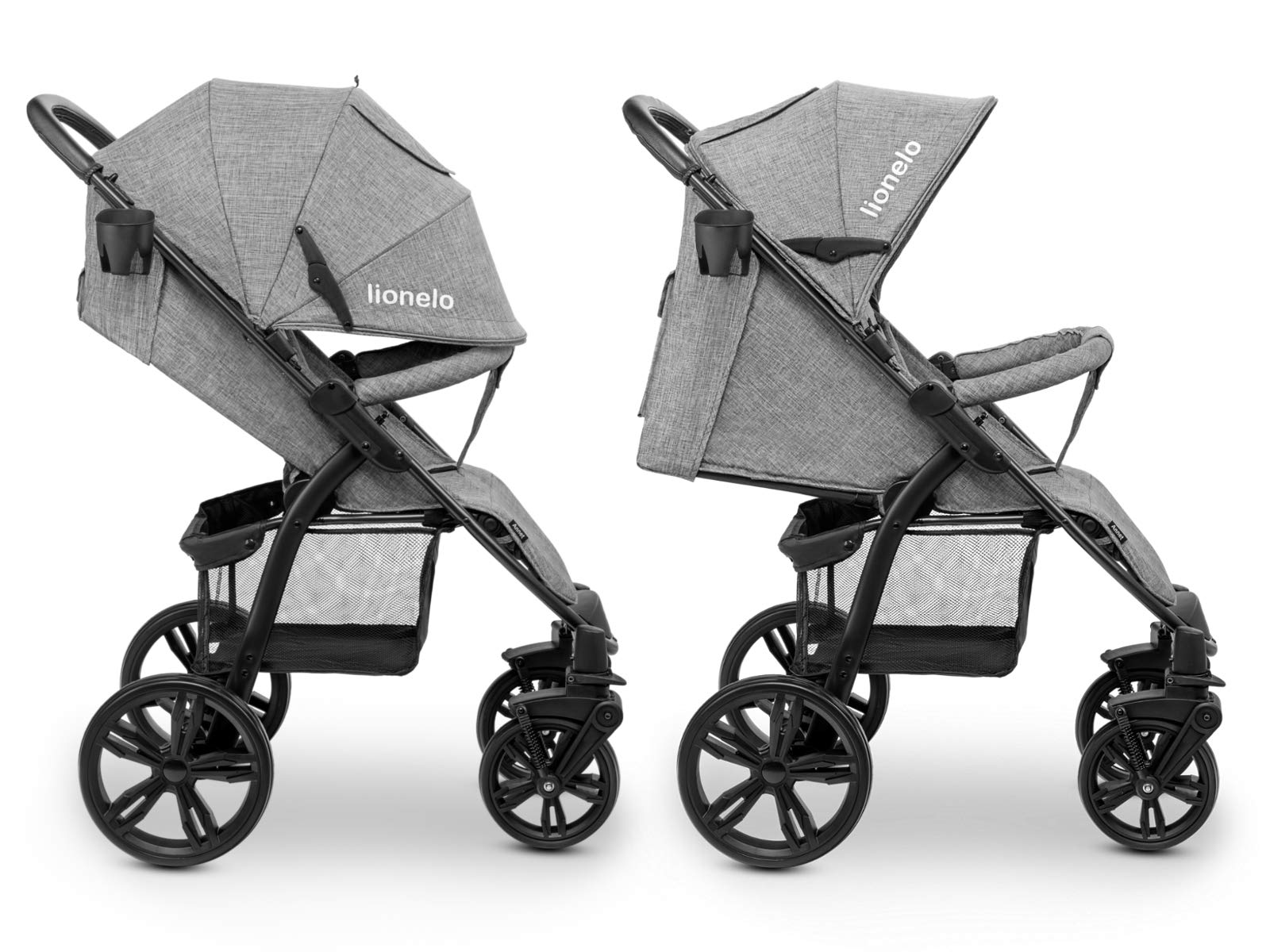 Lionelo 5902581656278 LO-Annet Concrete Stroller Pushchair (Light-Gray)   5