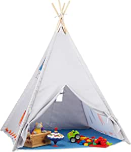relaxdays-teepee-play-tent-childrens-playhouse