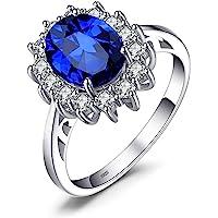 JewelryPalace Principessa Diana William Kate Natuarle Ametista Citrino Granato Peridoto Topazio Sintetico Zaffiro Rubino…