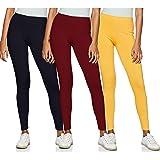 Longies Women's Cotton Blend Leggings