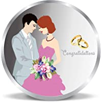 ACPL Precious Moments 999 Pure Silver Coin Newly Married Couple 10 gm 20 gm 50gm