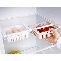 HapiLeap Boite Rangement Frigo Réfrigérateur Escamotable avec Tiroir Organisateur Boîte de Rangement pour Réfrigérateur…