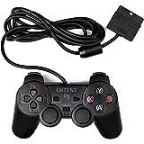 OSTENT Cablata Analogico Controllore Gamepad Joystick Joypad Compatibile per PS2 PSone PSX Console Dual Shock Videogiochi