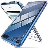 ProCase Funda Transparente iPod Touch 7/6/5, Carcasa Ultra Fina Híbrida con Reverso PC Duro Borde TPU Flexible, Funda Anti Ca