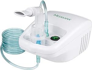 Medisana IN 500 Inhalator 54520, mit extra langem Schlauch (2m) und umfangreichem Zubehör, zur Inhalation bei Erkältungen oder Asthma