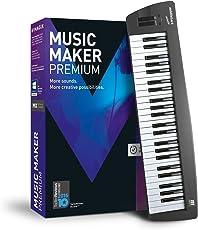 MAGIX Music Maker – 2017 Control Edition – USB-Keyboard inkl. Musiksoftware