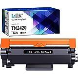 LxTek Compatible pour Brother TN2420 TN-2420 TN2410 TN-2410 Cartouches de Toner pour Brother MFC-L2710DW HL-L2350DW HL-L2310D