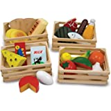 Melissa & Doug Food Groups | Pretend Play | Play Food | 3+ | Gift for Boy or Girl
