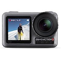 DJI Osmo Action Cam - Digitale Actionkamera mit 2 Bildschirmen 11m wasserdicht 4K HDR-Video 12MP 145° Winkelobjektiv…