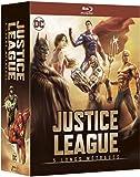 Justice League - 5 longs métrages: Le paradoxe Flashpoint + Guerre + Le Trône de l'Atlantide + Dieux et monstres + vs les Teen Titans - Coffret DC COMICS