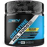 Creatine HCL 3000-320 Kapseln mit je 750 mg - 80 Anwendungen - Hochdosiert mit 3000 mg pro Tag - Kreatin Hydrochlorid…