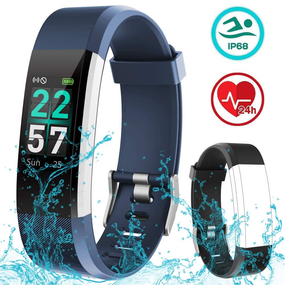 Rayfit Pulsera Actividad Inteligente Reloj Deportivo Impermeable Fitness Tracker Monitor de Ritmo Cardíaco Podómetro… 1