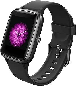 GRDE Smartwatch, Orologio Fitness Uomo Donna Fitness Tracker Impermeabile IP68 Sonno Cardiofrequenzimetro da Polso Controllo Musica Contapassi Calorie GPS Sportivo Activity Tracker per Android iOS
