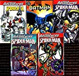 Set Of 5 Comic Book By DC and Marvel