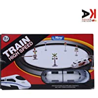 AK ANOLIHK® high Speed Battery Operated Metro Train Set for Kids (Small Metro)