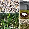10 Meter NTA Rasenkante Beeteinfassung Beetumrandung schmal 140/1000 Mähkante Metall von NTA auf Du und dein Garten