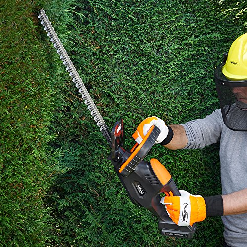 VonHaus 20V Max. Cordless Hedge Trimmer/Cutter – 51cm Blade & Blade Cover – POWERED BY PRIMAL