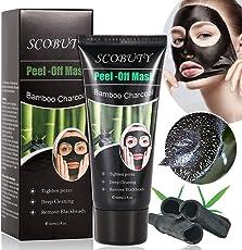 Scobuty Mitesser Peel off Maske Bambus-Kohle
