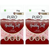 Puro Healthy Salt Crystal, 1kg (Pack of 2)