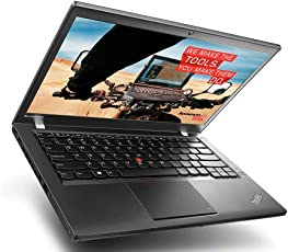 Lenovo ThinkPad T440s i7 Premium-Notebook - 240 GB SSD - Intel DuoCore i7 Prozessor - 12 GB RAM - 14 Zoll Full-HD 1920x1080 Multitouch Display -Windows 10 (Zertifiziert und Generalüberholt)