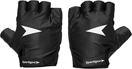 Sportigoo Vent-X Cycling Gloves - Black/White