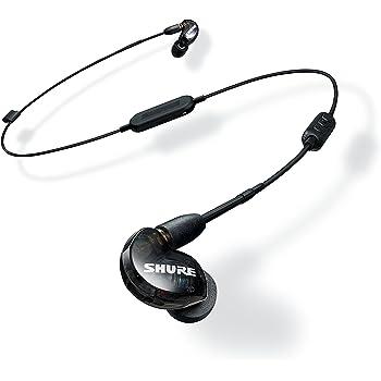 Shure SE215-K-BT1-EFS Bluetooth Auricolari ad Isolamento Acustico, Neri