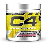 C4 Original - Suplemento en polvo para preentrenamiento - Margarita de fresa | Bebida energética para antes de entrenar | 150