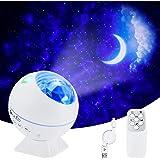 LED Sternenhimmel Projektor,OxyLED LED Sternenlicht Projektor mit Fernbedienung&Bluetooth&Timer,Rotierende Wasserwellen Proje