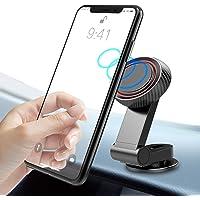 Supporto Smartphone per Auto, TINICR 360°/90° Regolabile Porta Cellulare da Auto per Cruscotto, Universale Porta…