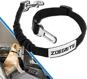 Speedsporting Hunde Sicherheitsgurt Katzen Sicherheitsgeschirr Einstellbar Hundegurt Fürs Auto Mit Besonders Elastischer Ruckdämpfung Passend Für Alle Hunderassen Haustier
