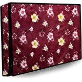 Stylista Printed PVC LED/LCD TV Cover for 50 Inches All Brands and Models