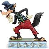 """Disney Traditions, Figura del Lobo Feroz de """"Los Tres Cerditos"""", Enesco"""