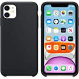 Microsonic Apple iPhone 11 (6.1'') Kılıf Liquid Lansman Silikon Siyah