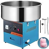 SucceBuy Machine à Barbe à Papa Professionnelle Cotton Candy Machine Idéale pour Anniversaires et Festivals (bleu)