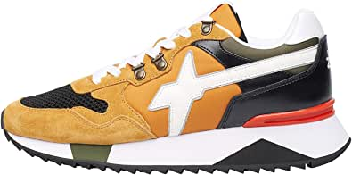 w6yz Yak-M.-Sneaker in Suede, Mesh e Tessuto Tecnico