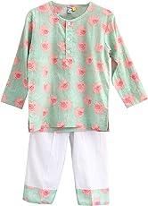 Frangipani Unisex Cotton Flying Piggies Pyjama Set
