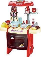 Webby Kitchen Set Kids Luxury Battery Operated Kitchen Super Set Toy
