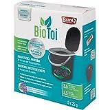 BranQ - Home essential 5901098412438 Préparation Biologique pour Toilettes latrines et sèches, aérobies et bactéries anaérobi