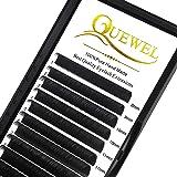 Wimperverlenging 0,15 D Krullengte Mix-8-15 mm Lengte Zacht Zwart Mat | Optioneel 0,03 0,05 0,07 0,10 0,15 0,20 C/D Krul 6-18