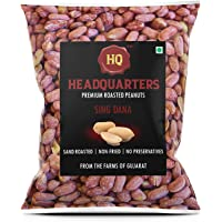 Headquarters Singdana (Premium Roasted Peanuts with Husk - Khari Sing) 1 KG Vacuum Pack
