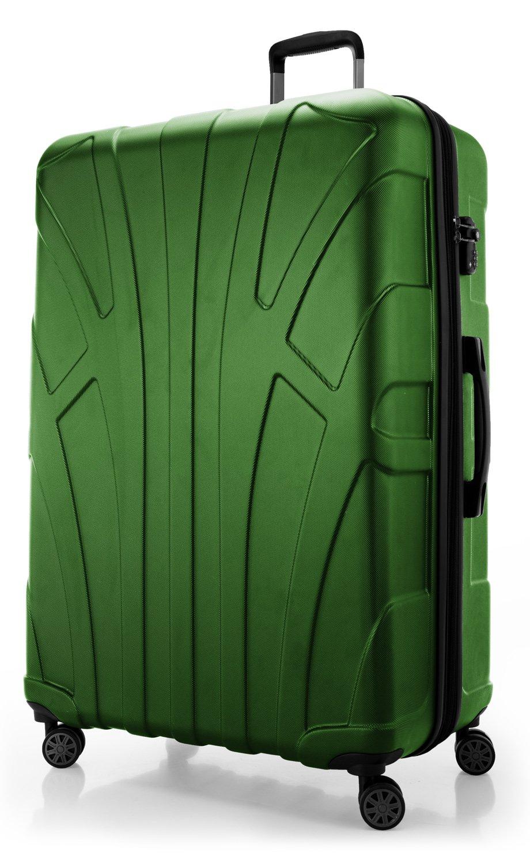 SUITLINE-Extra-groer-Reisekoffer-Hartschalen-Koffer-XL-Trolley-Rollkoffer-mit-Erweiterung