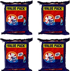 SURF EXCEL VALUE PACK(PACK OF 4)- 3200GM- by shleyroyal