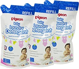 Pigeon Laundry Liquid Detergent Refill, 500ml (Pack of 3)