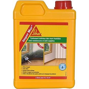 imper mur resine pour traitement des murs humides anti salpetre anti moisissures 2l blanc. Black Bedroom Furniture Sets. Home Design Ideas