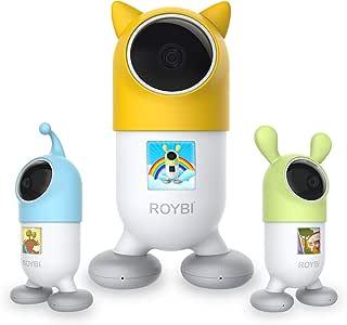 ROYBI Robot | Il Robot educativo Intelligente AI per Bambini di età Compresa tra 3 e 7 Anni | Giocattolo didattico STEM con Oltre 500 lezioni interattive, Giochi e App Mobile