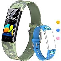 HOFIT Fitness Tracker für Kinder, Aktivitäts-Tracker mit Schrittzählern, Herzfrequenz- und Schlafmonitor, Stoppuhr, IP68…