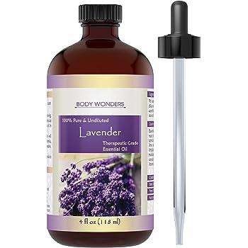 Body Wonders Therapeutic Grade Oil, Lavender, 4 oz