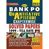 Kiran Bank PO Quantitative Aptitude Chapterwise Solved Papers 1999 Till Date 2021 Edition(English Medium) (3398)