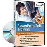 PowerPoint 2016 Training - In 8 Stunden PowerPoint sicher anwenden   Einsteiger und Auffrischer lernen mit diesem Kurs Schritt für Schritt die sichere Anwendung von PowerPoint [1 Nutzer-Lizenz]