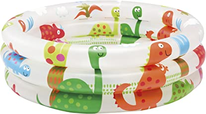 Intex 57106 - Piscina Baby Pool 3 Anelli, 61 x 22 cm